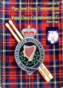Pipe Band Drum Scores from the RUC - for instant download